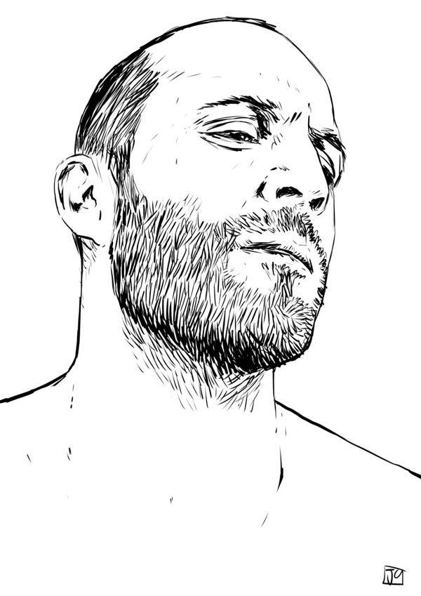 Illustration Gallery 7: B by Giuseppe Cristiano, via Behance