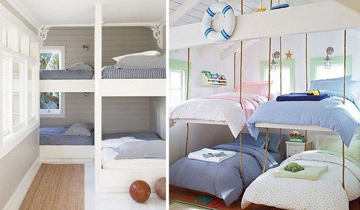 Лучшие дизайнерские находки - Двухъярусные кровати в детских комнатах