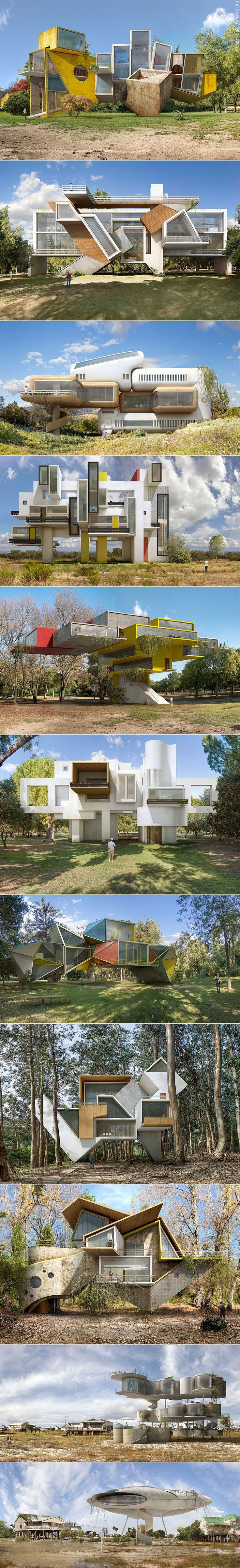 Dionisio Gonzalez Projects' surreal architectural visions