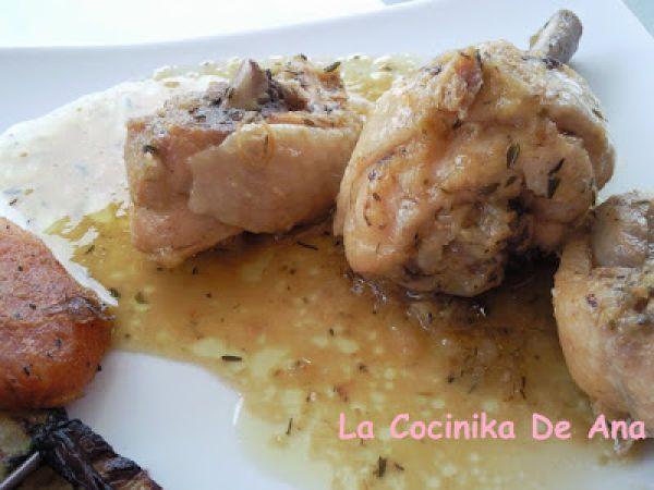 Receta Plato : Pollo al limón (en olla rápida) por La Cocinika De Ana