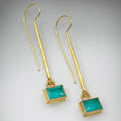 Eardrops by Jean Scott-Moncrieff, UK.  I confess, these fascinate me.  Ancient-influenced and very contemporary.