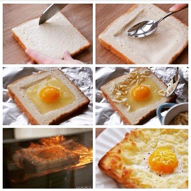 Eggs Toasties