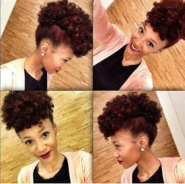C Natural Hair Curls