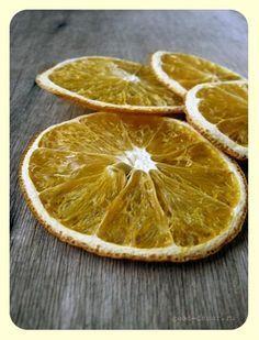 Сушеные апельсины для декора за пару дней