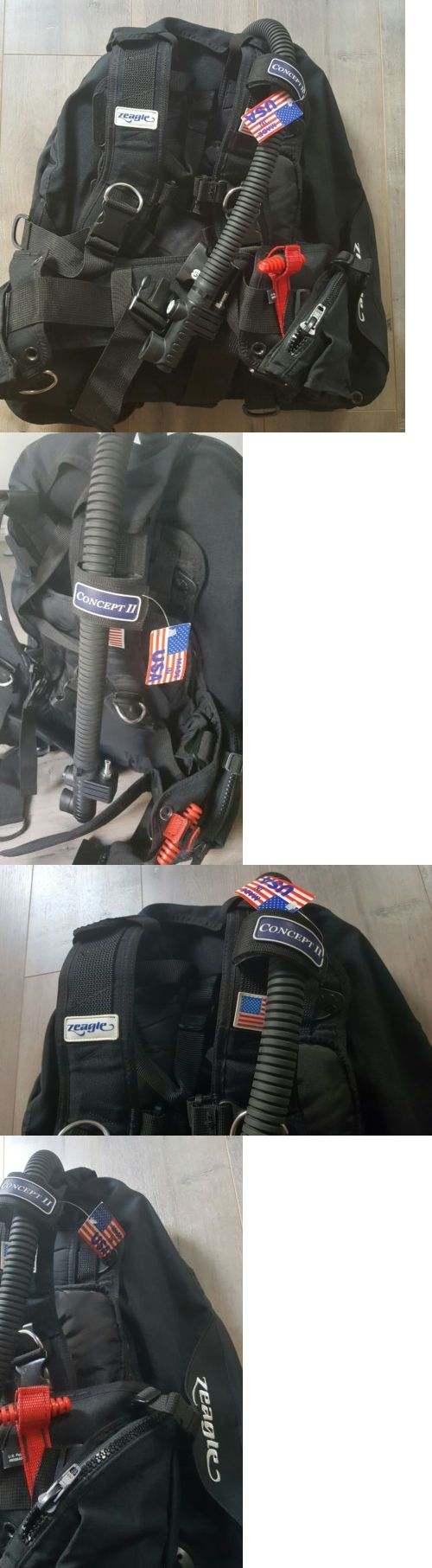 Buoyancy Compensators 16053: Zeagle Ripcord Concept Ii Scuba Bcd Size S/M Nwt! Retail $500 BUY IT NOW ONLY: $245.0