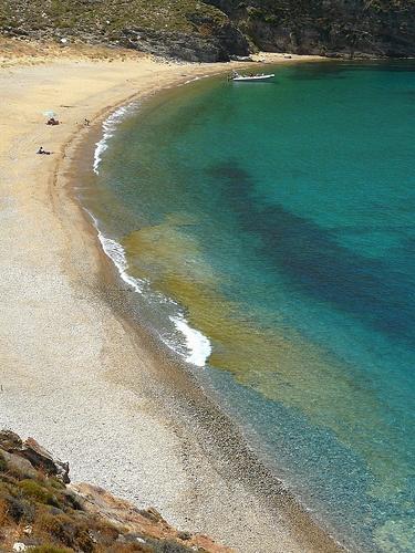 Vaya beach, Serifos island