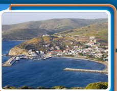 Lemnos in Northern Aegean, Greece