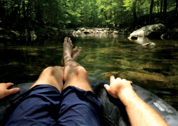 Free Things to Do In Gatlinburg, TN: Tube Down a River