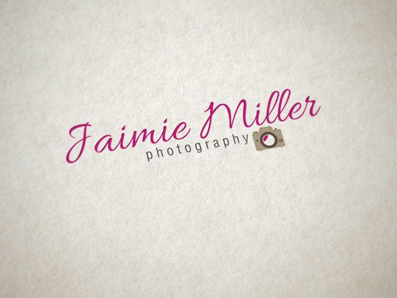 Premade Logo for Photographers Photography Logo by cloudwirestudio