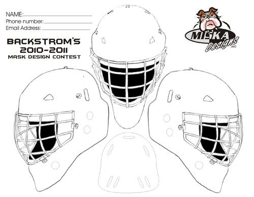 Design Your Own Goalie Mask Game