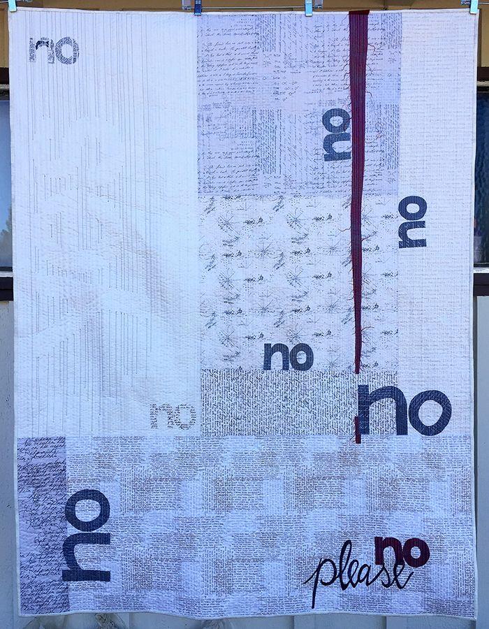Implied Consent - Colleen Molen  QuiltCon 2017 Award Winners | MQG Community
