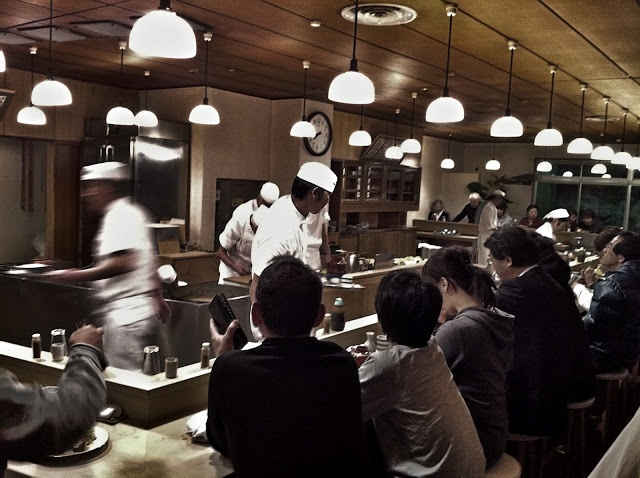 Eating in Tokyo: Tonki at Meguro - closed Tues & 3rd Mon