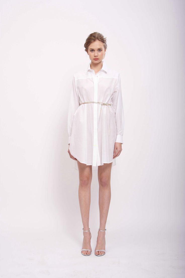 SHIRT DRESS CLASSIC, LEEDA