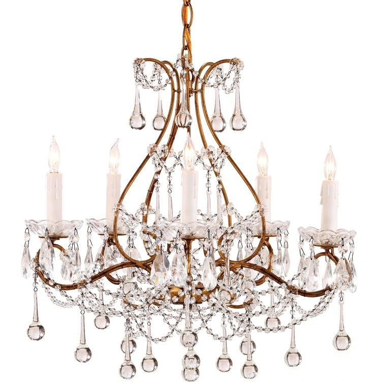 Currey And Company Crystal Gold Chandelier Lighting Chandeliers Transitional
