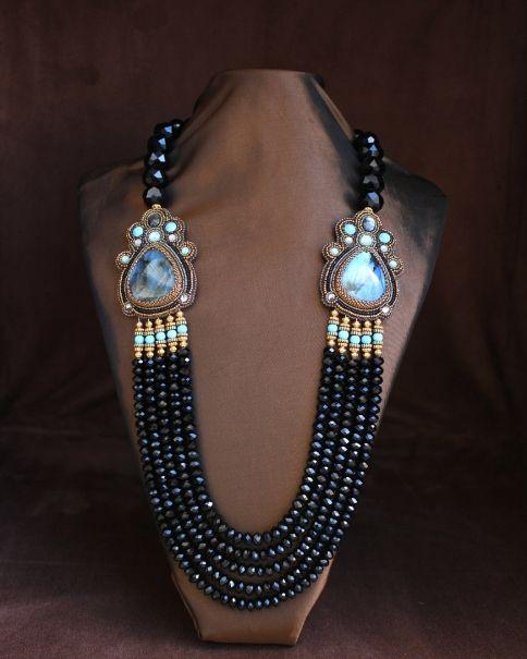 Amber's Labradorite Necklace