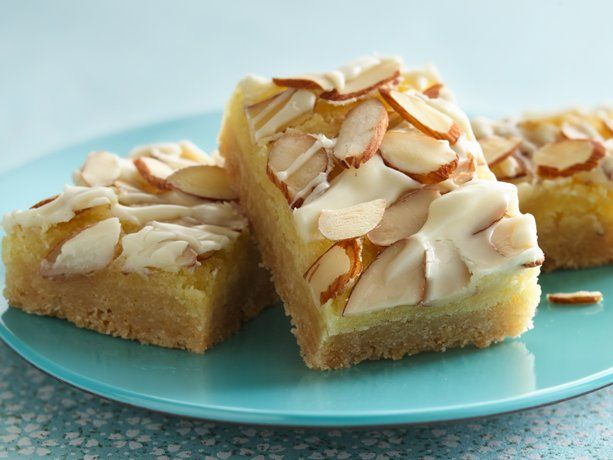Almond Bars: Fun Recipes, Almonds, Sweet, Elegant Almond, Food, Bar Recipes, Dessert
