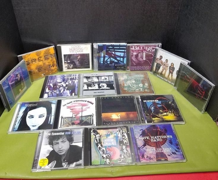 Compact Disc Lot of 17 CD's Rock, Alternative, 90's, Punk, Singer Song Writer