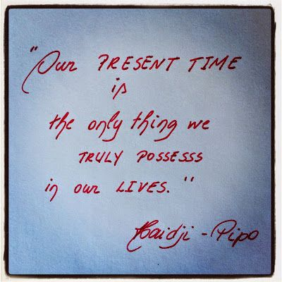 Haidji: Book Quote - Haidji - Pipo - Present Time