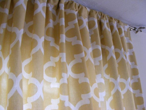 Best 25+ Yellow And Grey Curtains Ideas On Pinterest