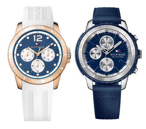 Nuevos relojes de Tommy Hilfiger. Pese a los que muchos piensan, el color blanco no es sólo para el verano sino todo lo contrario. El blanco es el color del invierno por excelencia, alude a la nieve, al frío y al hielo.