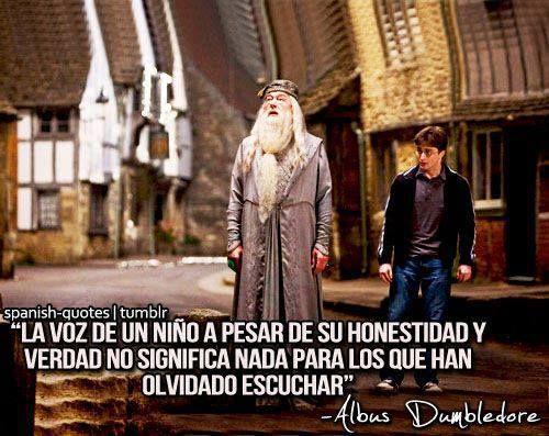 Frase de Albus Dumbledore