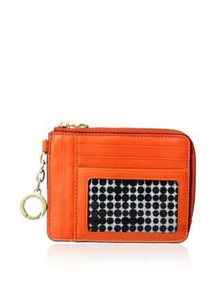 30% OFF Kate Spade Saturday Women's Leather Card & Coin Wallet, Flame