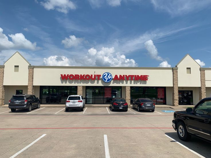 Highland Village Texas Anytime Fitness Workout Machines Gym Workouts
