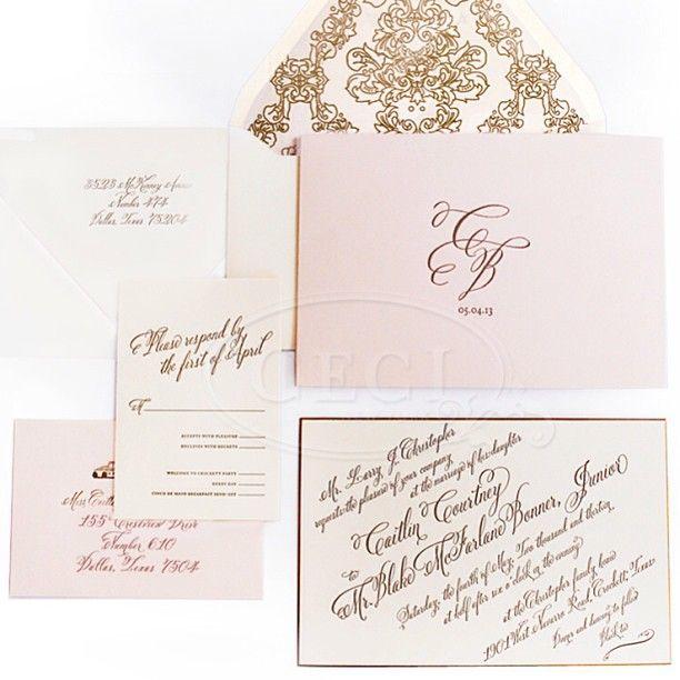 8 best Gatefold wedding invitations images on Pinterest Invitation - formal invitation style