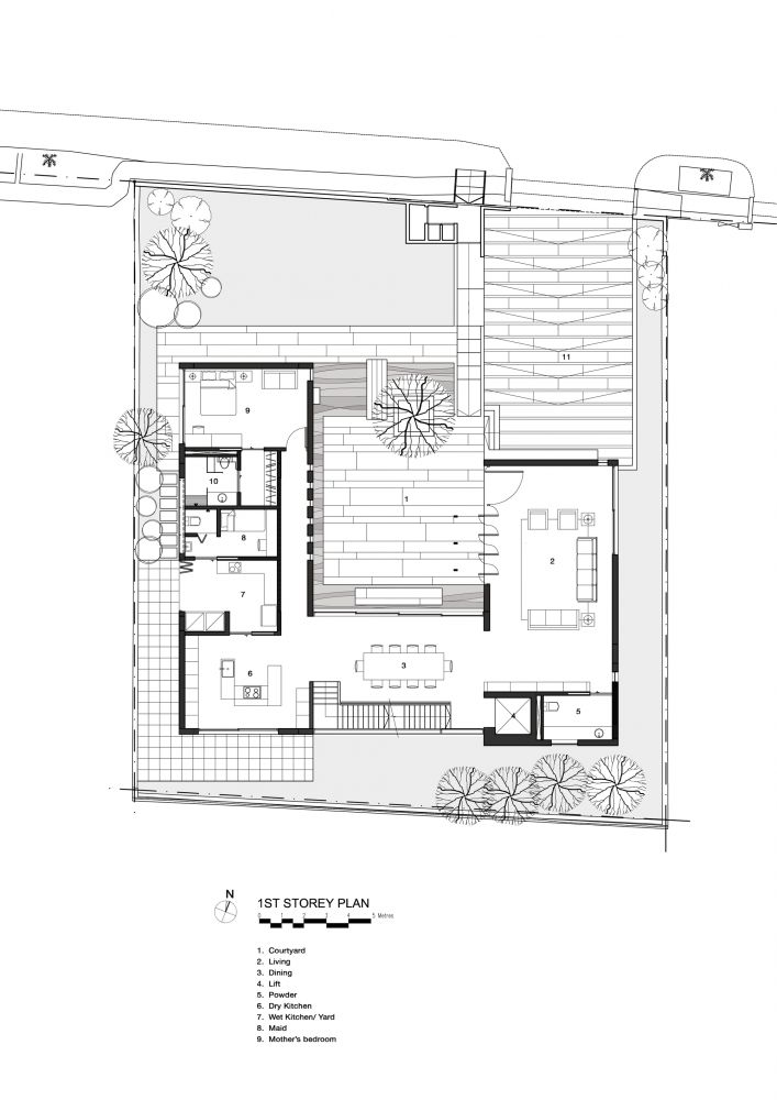 17 best images about architecture drawings on pinterest for Courtyard home designs adelaide