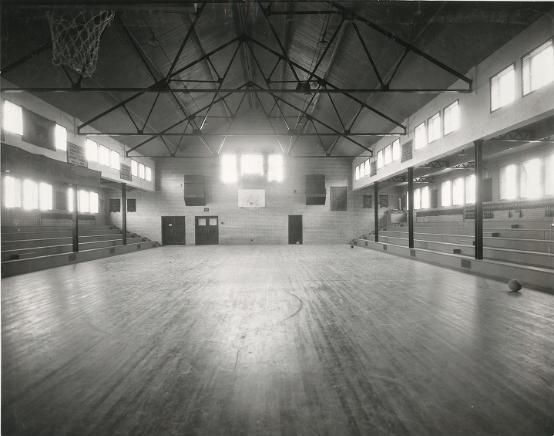 Fort Collins High School gym. 1926. UHPC, University Archive, Archives and Special Collections, CSU, Fort Collins, CO