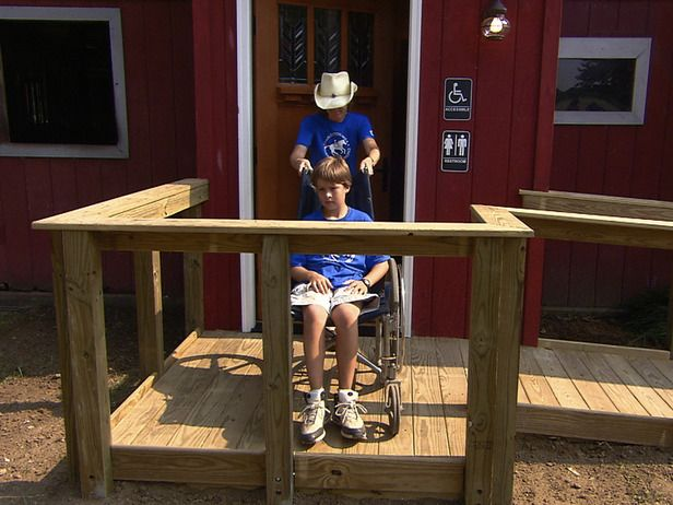 DIY Handicap Ramp & Landing...For my mum, who has mobility issues.