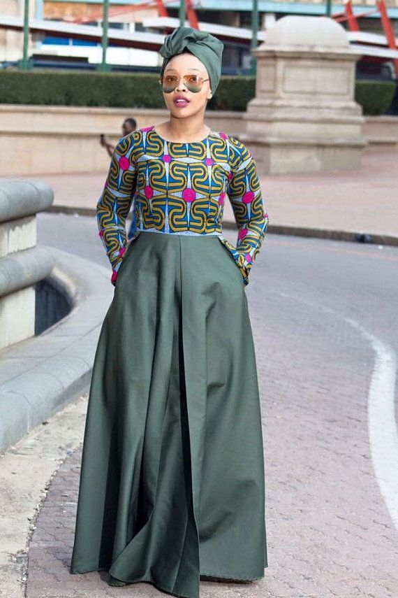 Hey, I found this really awesome Etsy listing at https://www.etsy.com/uk/listing/456764982/army-green-african-print-dress-ankara