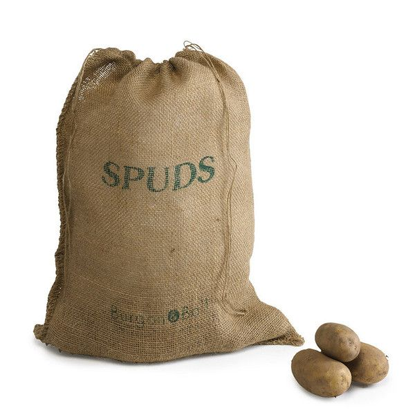 Keep the fruits of your harvest fresh for longer by storing them in these natural hessian sacks. Preventing sweating and storage rot, they'll protect your potatoes or root veg from light whilst allowing for good air circulation Each | 40cm x 55cm