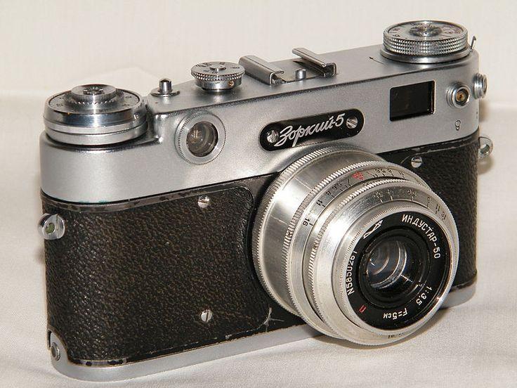 Малоформатный дальномерный фотоаппарат «Зоркий-5», СССР, 1958