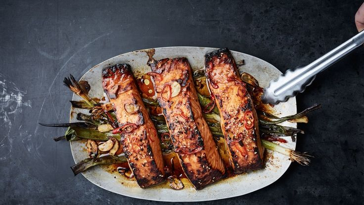 Couldn't be easier, done in 10 minutes and a really great marinade. Literally the perfect definition of weeknight cooking.