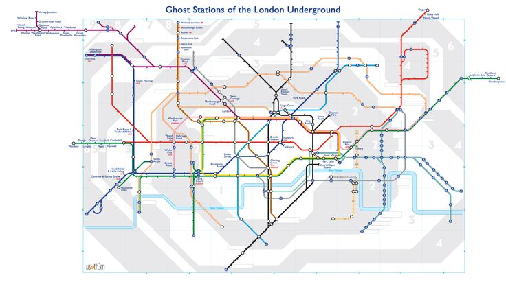 alternative tube maps ghost stations on the london underground