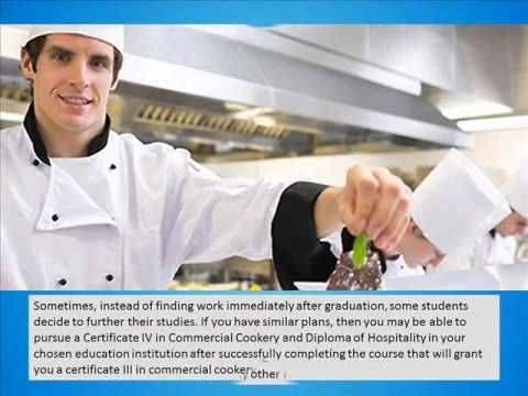 Study Commercial Cookery Course in Perth - YouTube