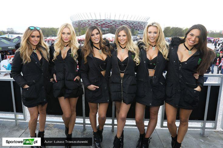 Monster Girls podczas LOTTO FIM Speedway Grand Prix Polski w Warszawie