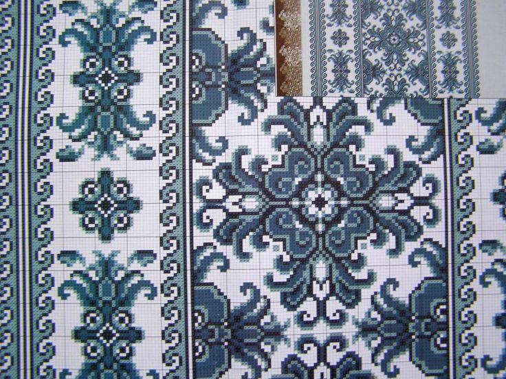 Cross Stitch Embroidery Pattern Ukrainian Easter Wedding Towel Rushnyk Set 5 145 | eBay