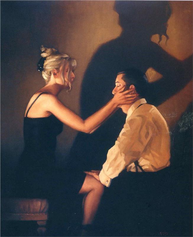 At Last My Lovely~Jack Vettriano