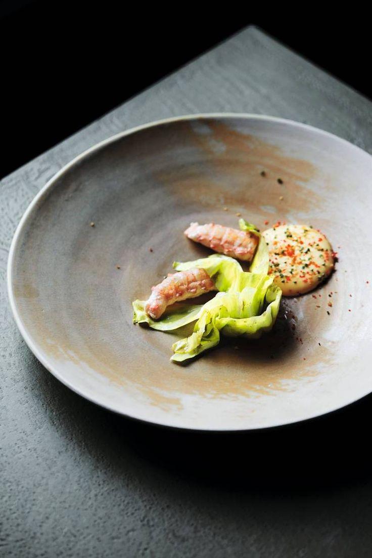 Oppskrift på kål, sjøkreps & hollandaise av Kari Innerå #kål #smak #mestergrønt #innerå