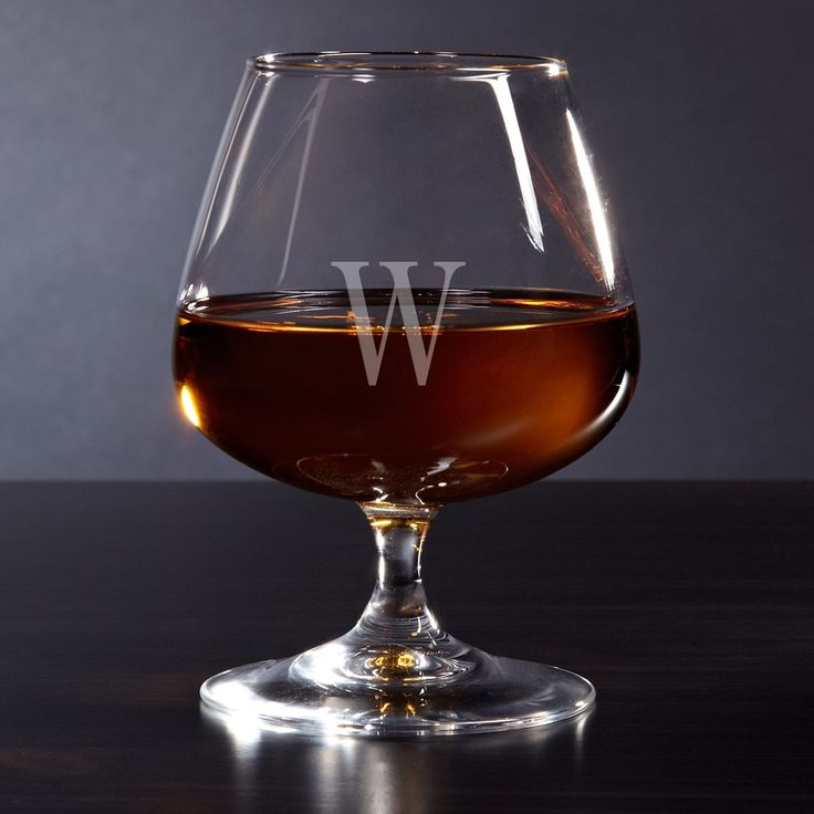 "The perfect way to wind down after a stressful day or a refined way to serve guests, this cognac glass is a complement to any liqueur. Brandy glass measures 5.25 tall and 3.75"" in diameter; holds 13 o"