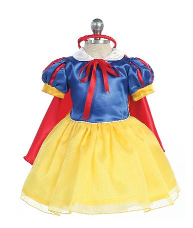 Baby Snow White Inspired Dress up Costume for Infants