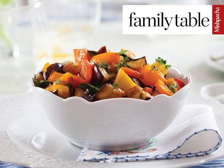 Eggplant and Pepper Salad | Recipes | Kosher.com