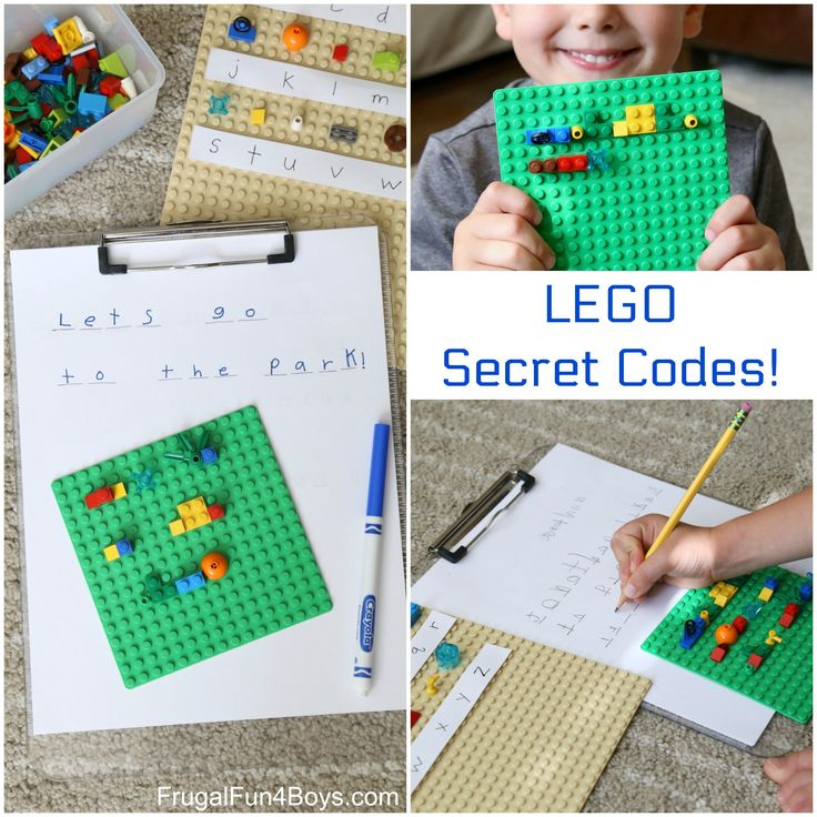 Oh my goodness, this is such a fun activity, and you can put it together with any LEGO bricks you own!  Use LEGO bricks to create a code.  Then kids can build and de-code secret messages! Create Your Code The concept of this activity is quite simple – create a code using a different LEGO …