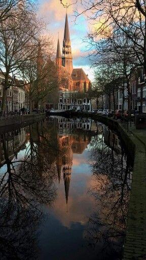 Gouda the Netherlands church