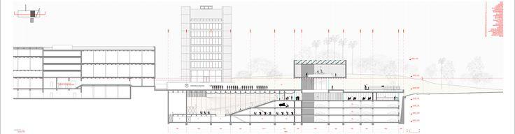 Galería de Mención Concurso Extensión Escuela Naval / elton + léniz arquitectos asociados - 9