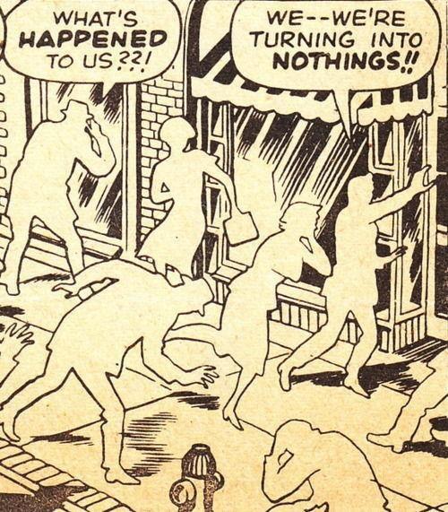 #Comic by Steve Ditko