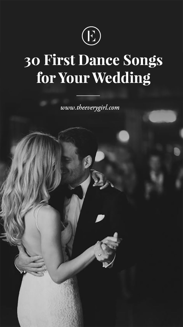 30 First Dance Songs for Your Wedding That Aren't Overdone
