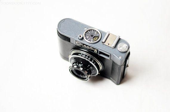Smena 8 Lomo camera Vintage Soviet 35 mm photo camera by Soondook